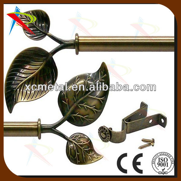 spray-paint expand curtain pole / China Curtain Poles, Tracks & Accessories