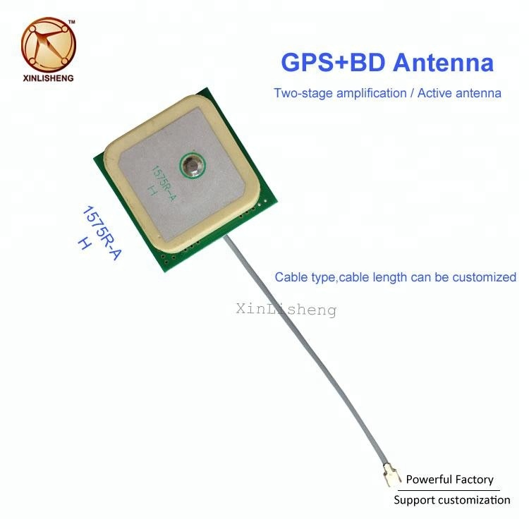 Wholesale Built-in Bd Gps Patch Antenna Two-stage Amplifier 1575r-a Active  Gps Antenna With Ipex - Buy Active Gps Antenna,Passive Gps Antenna,Gps