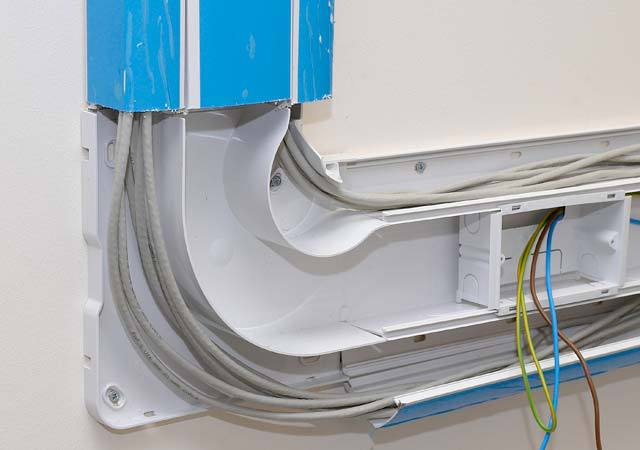 China Products For Sale High Flexible Plastic Cable Trunking System Price : trunking system of wiring - yogabreezes.com