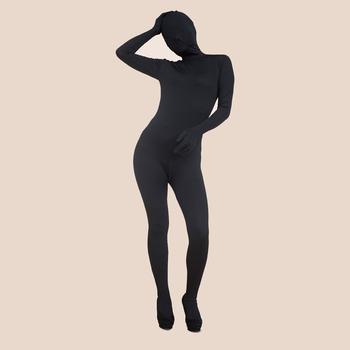 Ganzkörper body schwarz