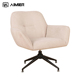 Comfortable Hotel Room Desk Fabric Chair With Stainless Steel Leg Good Quality Modern Hotel Chair