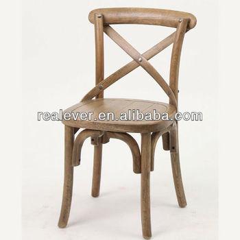 Kidu0027s Wooden Cross Back Dining Xavier Chair