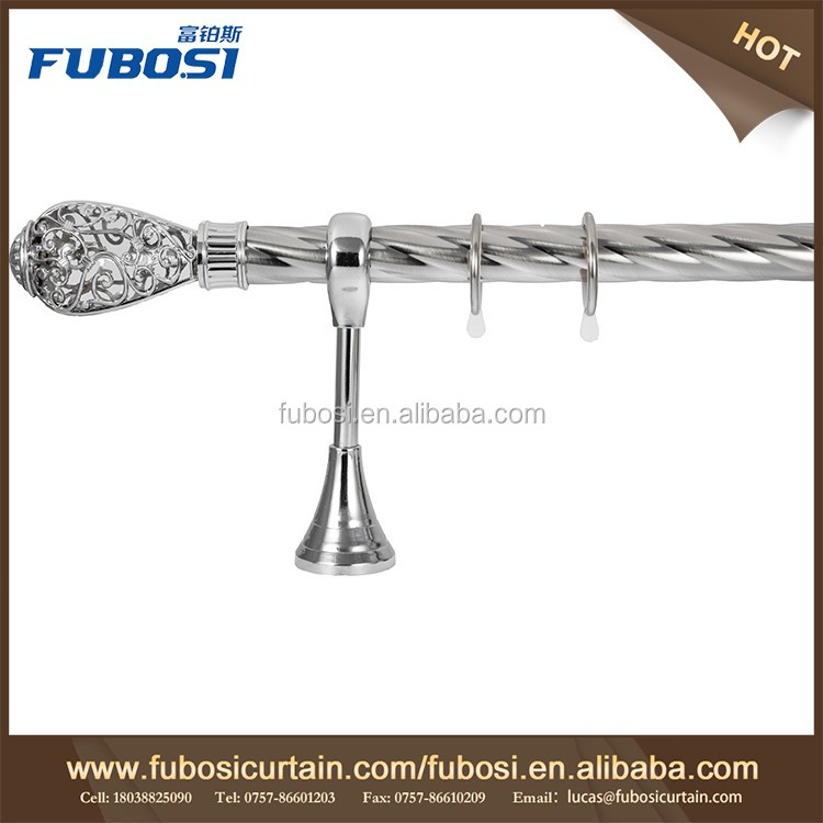 Hot China Products Curtain And Rod Set