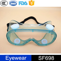 Ansi Certificate PVC Dust Protective Googles Safety Goggle