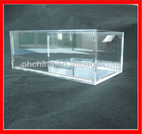 JMD-201 Handmade Lucite Display Case for Cellphone,Luxury Plexiglass Mobiles Retails Case,Promotional Pin Display Case