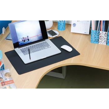 Office Leather Desk Mat Mouse Pad, Desk Blotter, Protector Large Desk Pad  For Writing