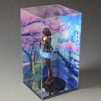 Plexiglass Acrylic Toy Glass Display Case For Hot Toys Display Case