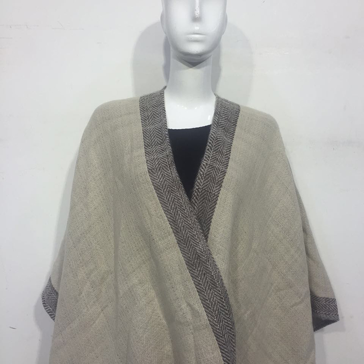 Knitted Shawl Cashmere and Wool Shawl