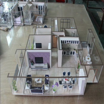 Architectural Miniature Scale Models Of Internal Furniture