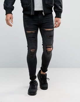 Young fashion jeans men name brand jeans pent jeans wholesale direct factory
