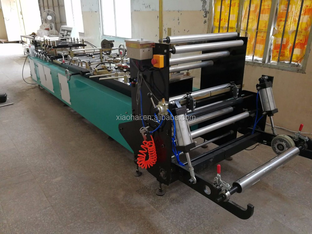 Plastic and Paper Middle and Bottom Sealing Bag Making Machine For Food