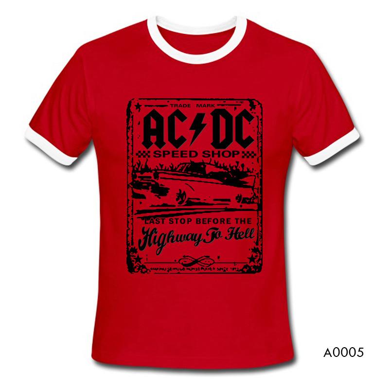 New Fashion Camisetas AC DC Speedshop T Shirts Mens acdc Graphic ... 7edbda2eaa842