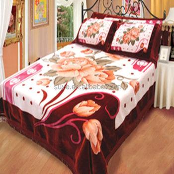 Wholesale Bed Sheet Set Blanket Double Bed Blanket