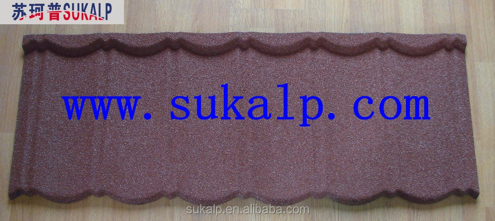 Hot Sale Nosen Colorful Stone Coated Metal Roof tile/Steel Roof Tile