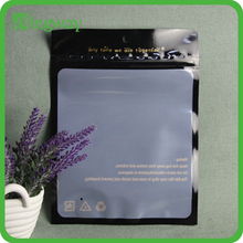 Custom design smell proof foil zipper bags from professional factory