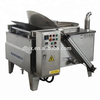 electric batch fryer machine for nuts snack