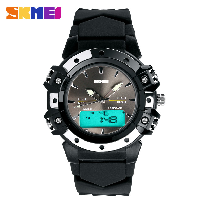 SKMEI Men 's Lady Watches Waterproof Electronic Sports Watches Fashion Student Watches Outdoor Sports