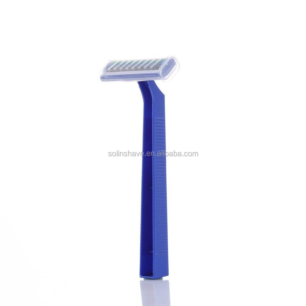 with lubricant strip disposable razor Twin blade