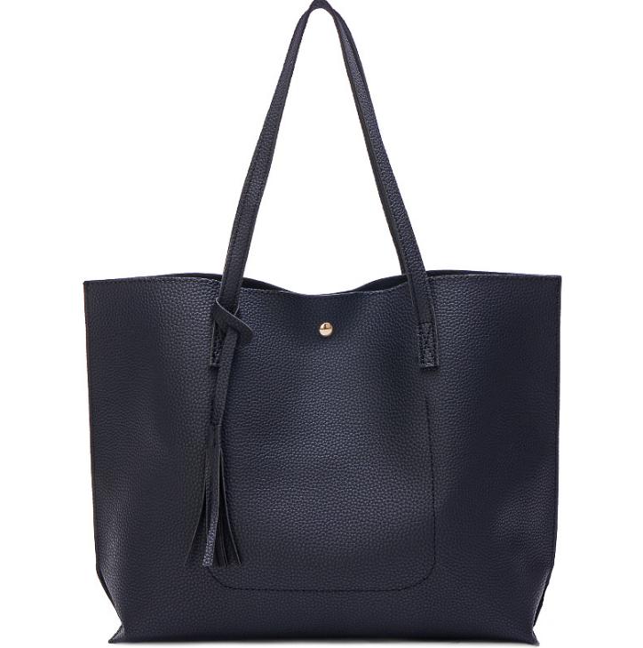 New Korea Style Women Ladies Gold Tassel Vivid Handbag Satchel Tote Shoulder Bag