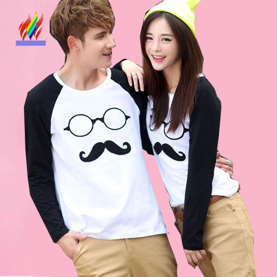 matching couple t shirts promotion achetez des matching couple t shirts promotionnels sur. Black Bedroom Furniture Sets. Home Design Ideas