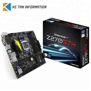Best Selling BIOSTAR Z270GT4 Motherboard with CPU 7th 6th Gen Intel Computer