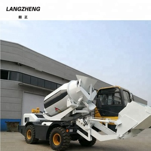 Truck Mounted Mobile Self Loading Concrete Mixer Pump