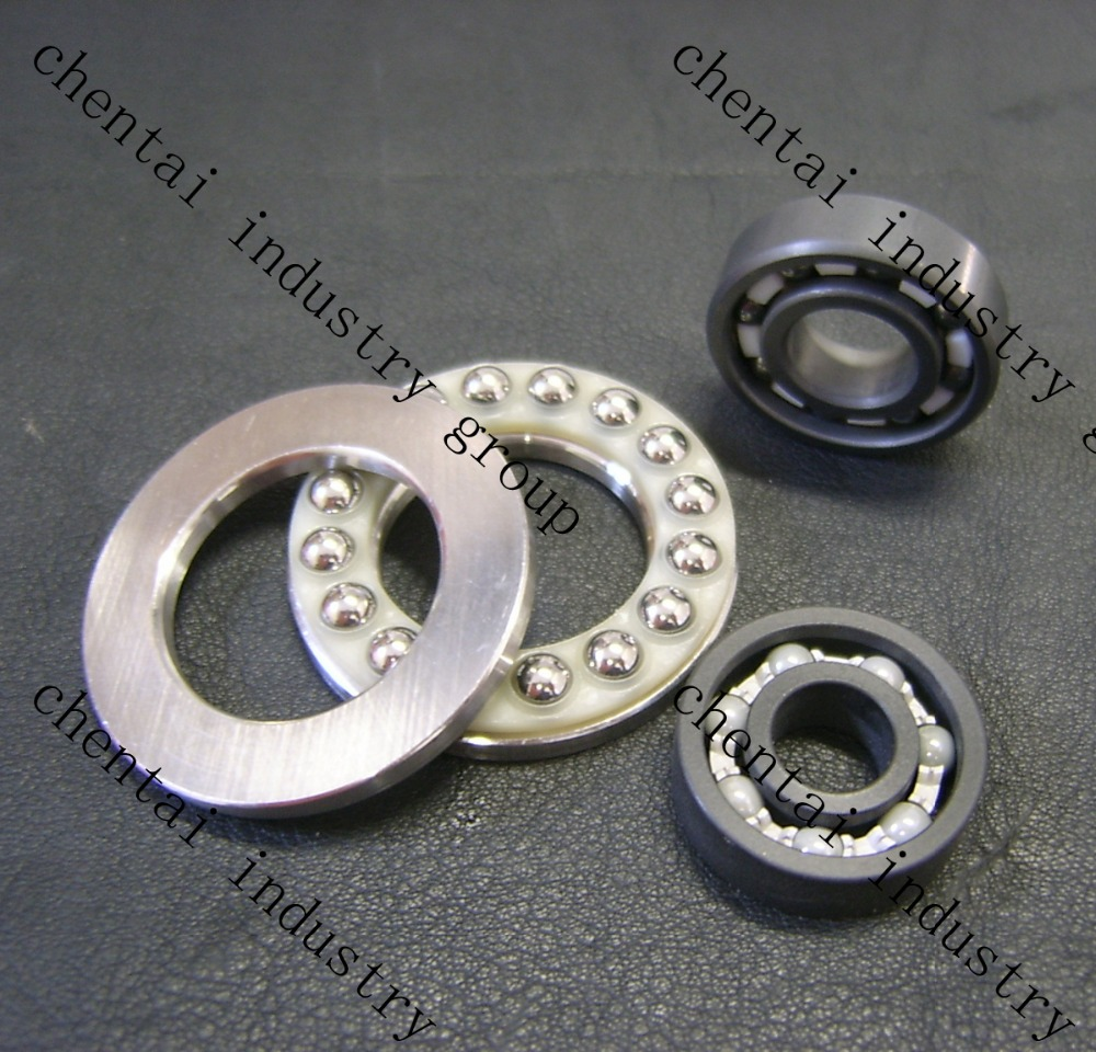Plastic PP POM Nylon and Ceramic Bearings With Good Performance