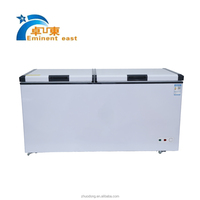 600L commercial supermarket cryogenic deep chest voltas deep freezer price for meat sale