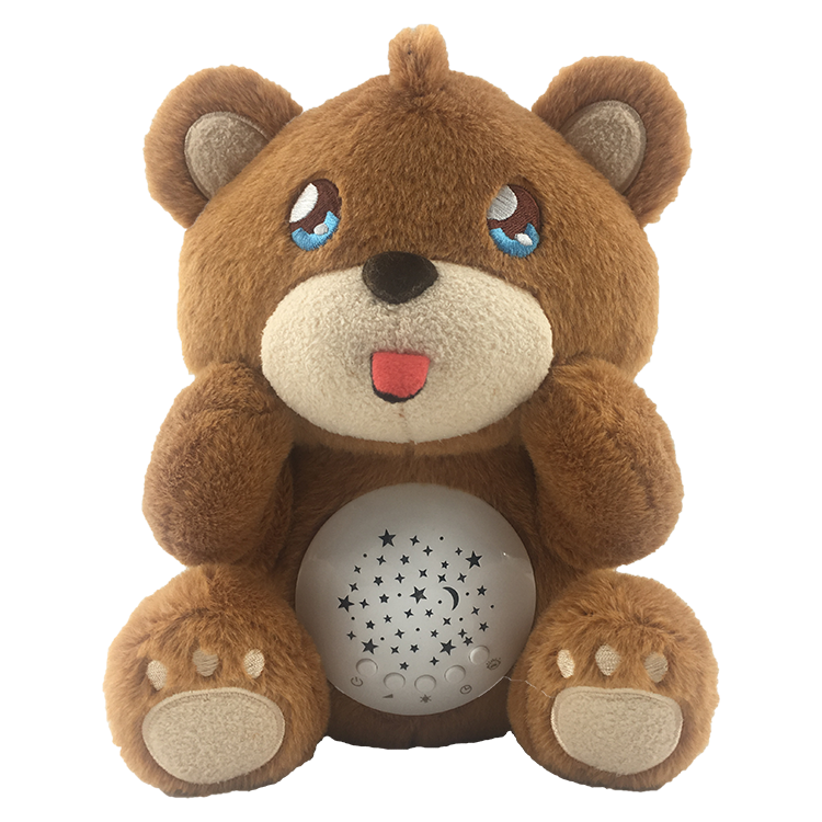 Stuffed Animal Bear Toy Baby Sound Machine,Night Light ...