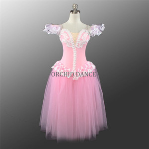 Professional Custom Size Fast Delivery Performance Wear Girls Ballet Dance Romantic Tutu