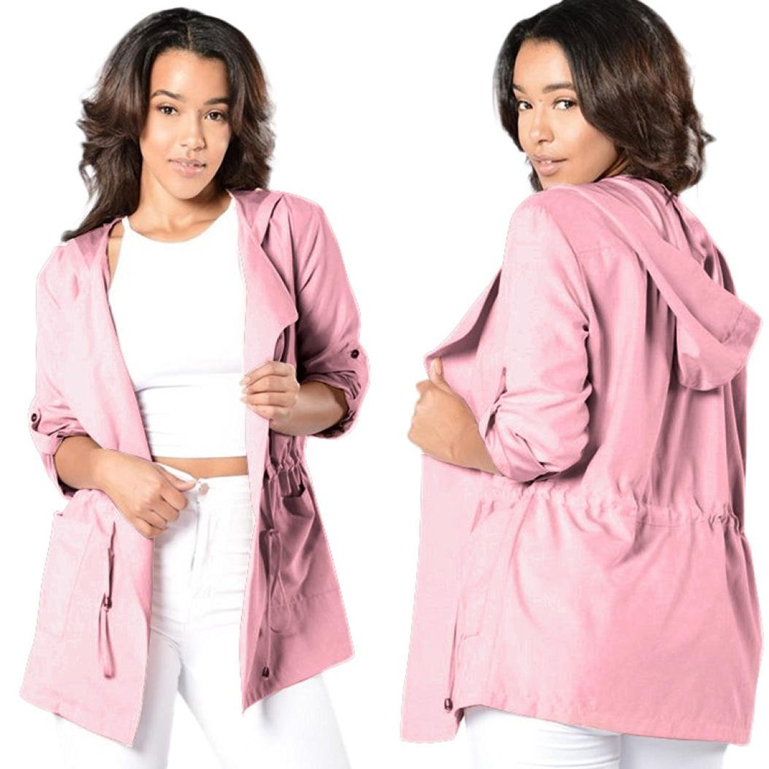 2d8f187bc4e7a Jushye Hot Sale!!! Women Jacket Coat, Ladies Casual Winter Warm Fashion  Hooded