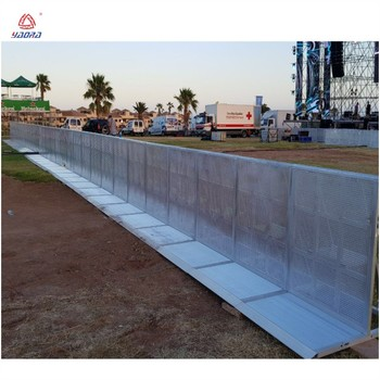 Events Crowd Control Barriers Aluminium Concert Barriers door barrier