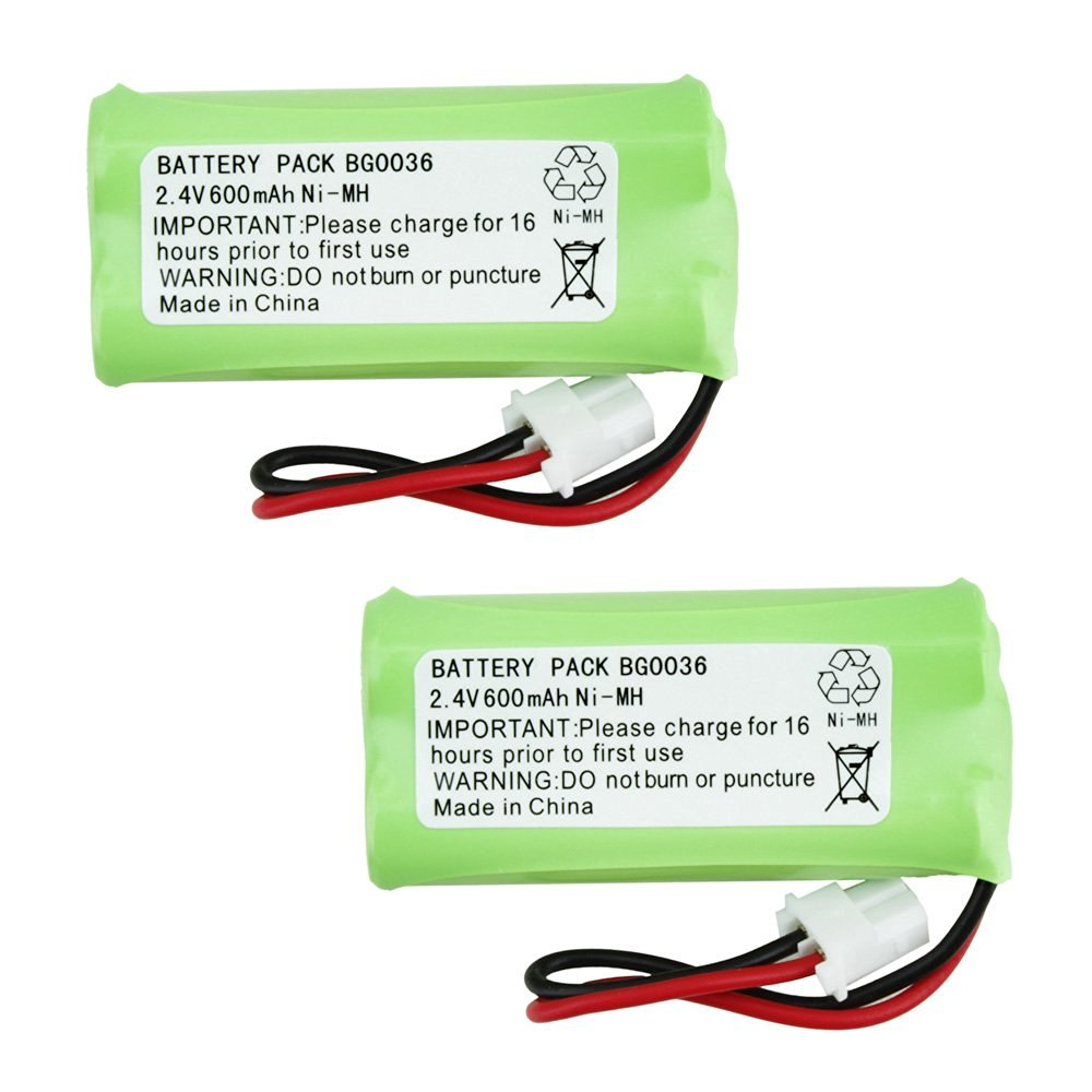 2 Fenzer Rechargeable Cordless Phone Battery for Vtech BT283342 BT-283342