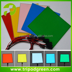 10cm*10cm el panel/el sheet/el backlight DC12V controller for car