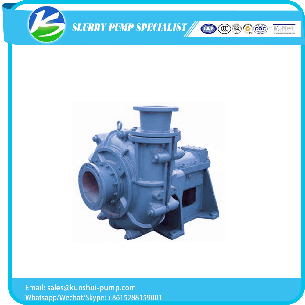 Customized tailing sediments transfer slurry pump manufacturer
