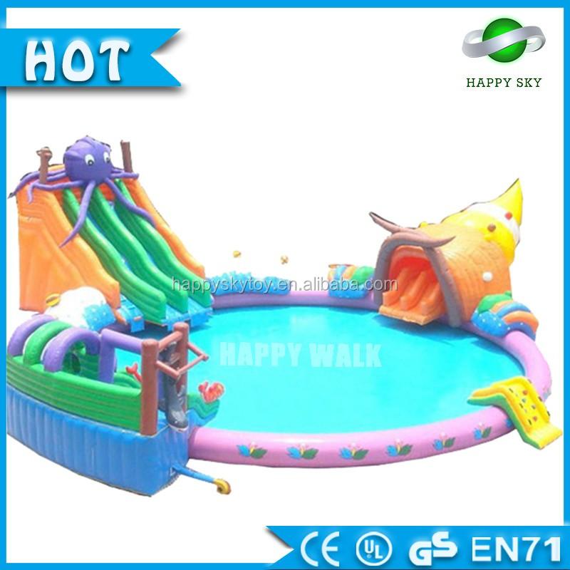 de nombreux types de style pas cher gonflable piscine flotteur de