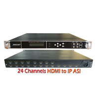 8 Channel H.264 1080P Full HD Radio TV Transmitter HDMI MPEG4 Encoders