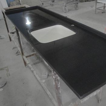 Hot Selling Black Galaxy Quartz Countertop Buy Black Quartz