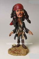 The pirates captain of the Caribbean