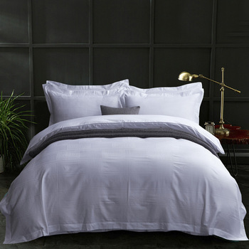 Top Ing High Quality Bedding Set Solid Color Egyptian Cotton Hotel Sets