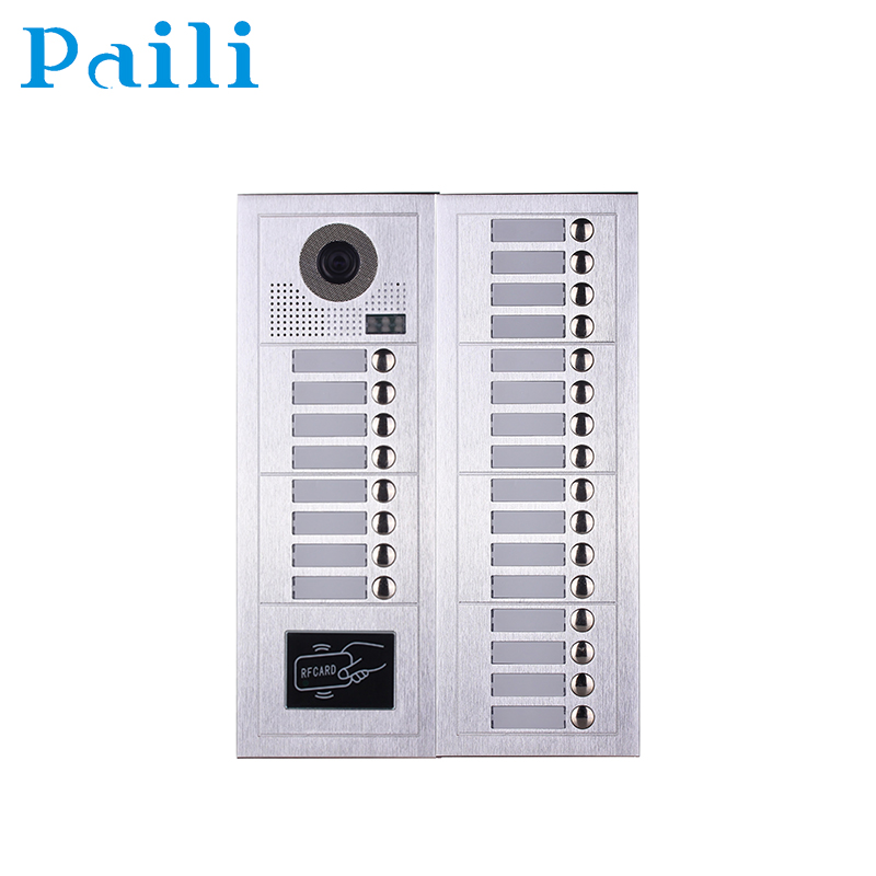 alarm door monitor systems multi apartment intercom video door answering systems