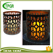 2016 New Style High Quality Metal Candle Outdoor Garden Led Light Modern Design