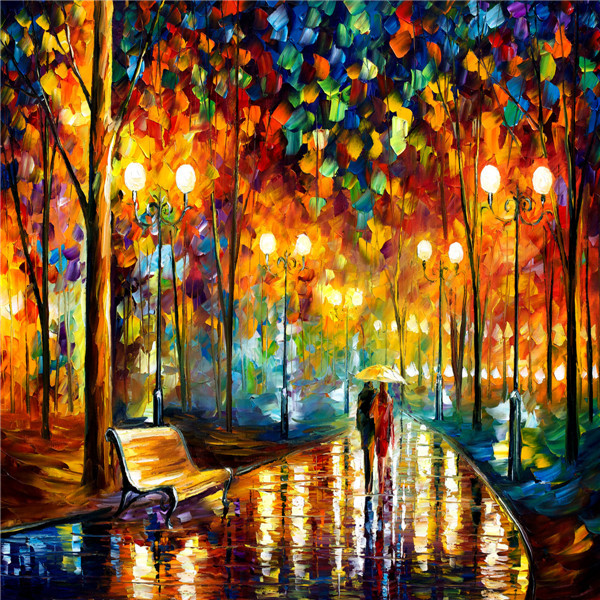 Decoration street scene painting design wallpaper murals for Define mural painting