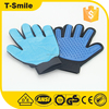 Amazon Pet Cleaning Grooming Deshedding Pet Glove with fingers