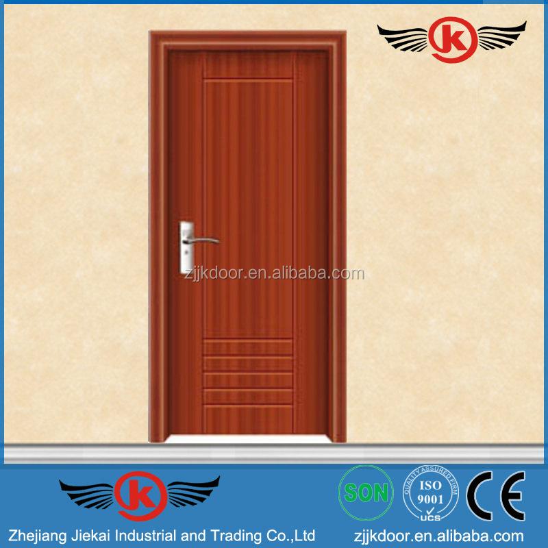 Jk-p9025 China Supplier Wooden Composite Door Design Pvc Bathroom ...