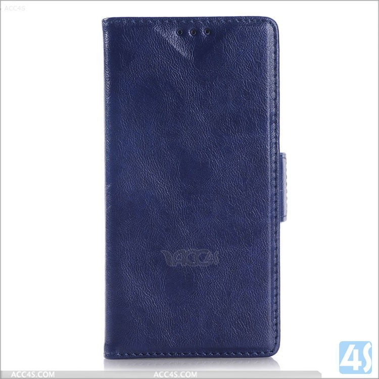 For Sony Xperia Z4 flip case, competitive price Pu leather case, Wax oil covers for Sony Z4