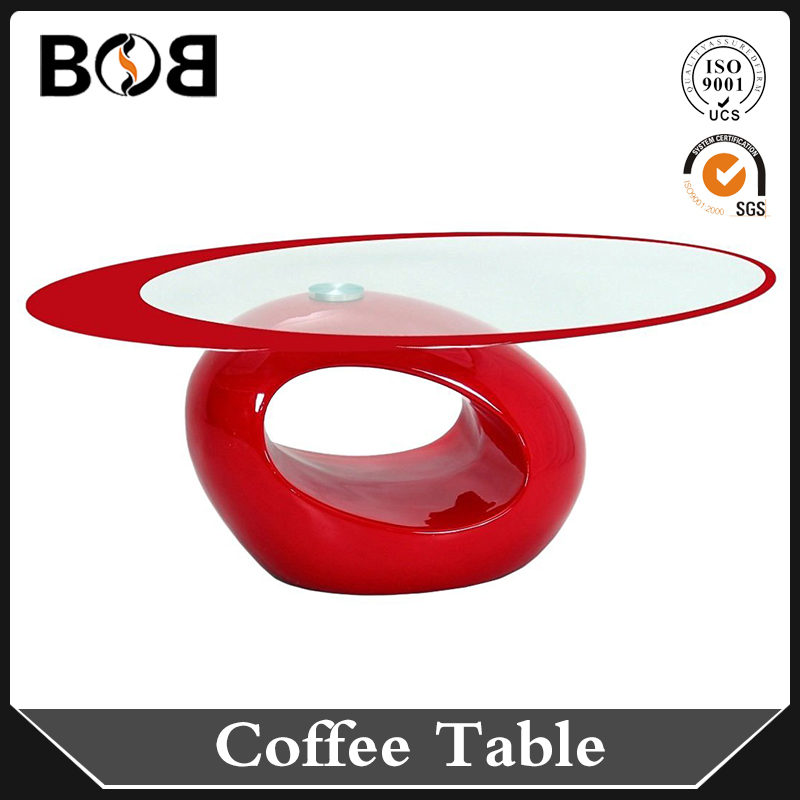 red color houseware designer home decoration coffee table