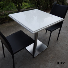 Durable stone fast food table japanese dining table