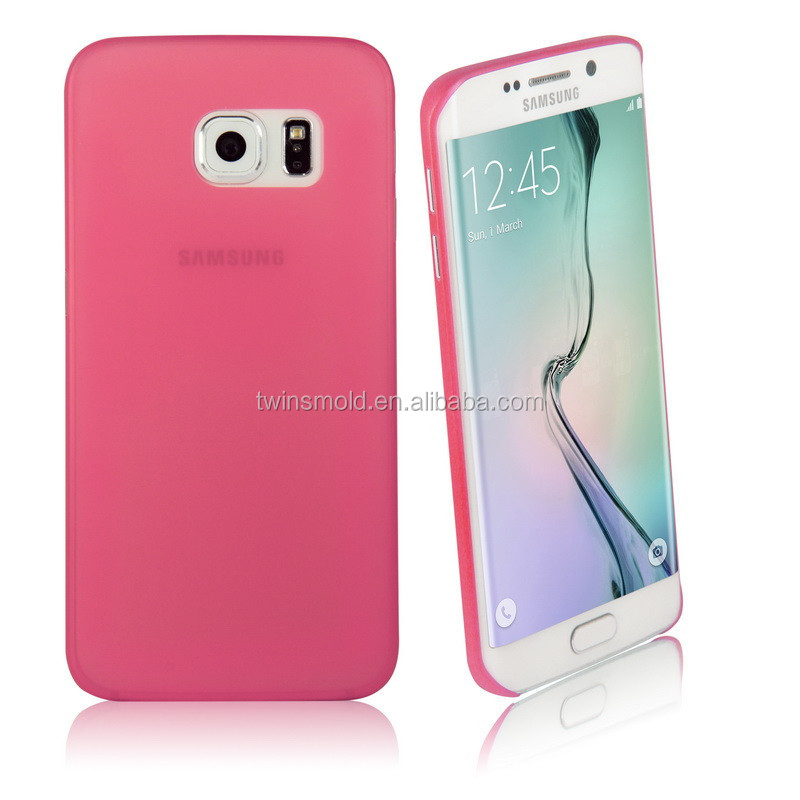 New arrival hot-selling 0.35mm ultra-thin pp for <strong>samsung</strong> galaxy <strong>s6</strong> <strong>edge</strong> ultra thin <strong>case</strong>