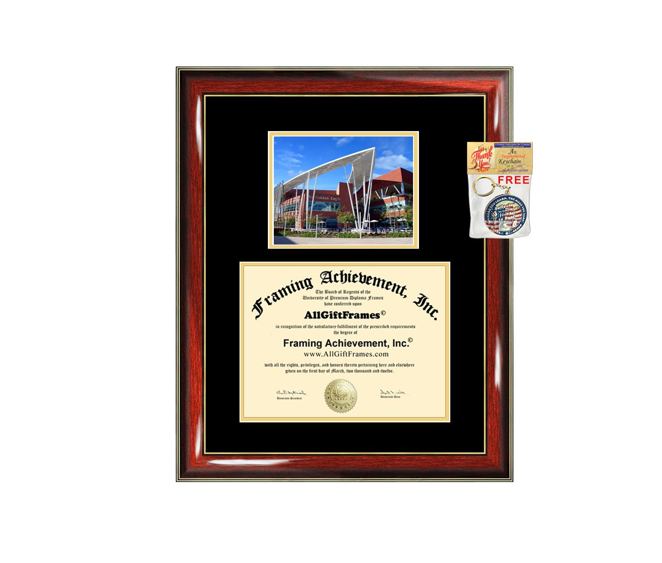 California State University Los Angeles Diploma Frame - CSULA Graduation Degree Frame - Matted Campus College Photo Graduation Certificate Plaque University Framing Graduate Gift Collegiate